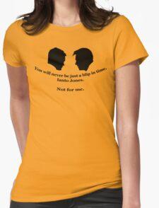 Janto Slash Print (black) Womens Fitted T-Shirt