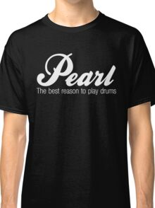 White Pearl  Drums Classic T-Shirt