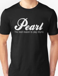 White Pearl  Drums Unisex T-Shirt