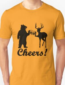 Bear, deer, beer, & cheers T-Shirt