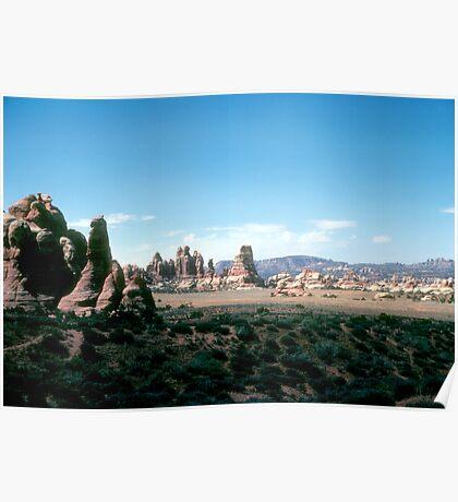 Chesler Park, Canyonlands National Park, Utah, USA Poster