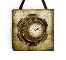 Steampunk Time Machine Tote Bag
