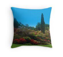 Bodnant Gardens Throw Pillow