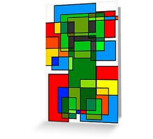 Neoplastic Creeper Greeting Card