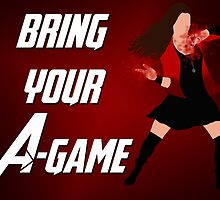 Scarlet Witch - Bring Your A-Game by alannamode