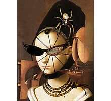 Lady Spinner Photographic Print