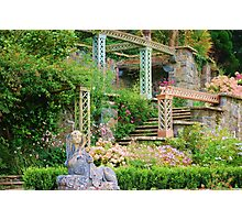 Bodnant gardens Photographic Print