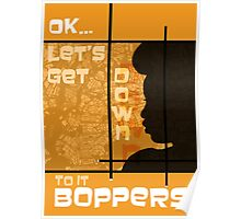 Boppers - Gold Poster