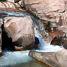 The Pink Granite at Castor River Shut-ins by barnsis