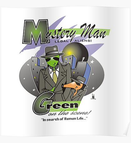 green on the scene Poster