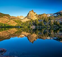 Utah Nature Photography Lake Blanche by Alan Mitchell