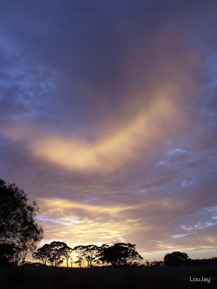 Pingelly February Dawn Sky by LouJay