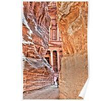 Petra, Jordan - World Wonders Poster