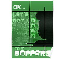 Boppers - Green Poster