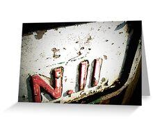N11 Greeting Card
