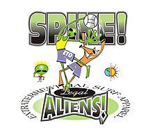 alien spike Photographic Print
