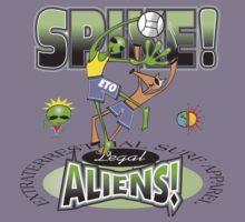 alien spike Kids Clothes
