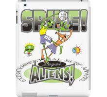 alien spike iPad Case/Skin