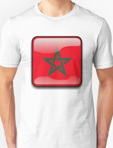 Morocco Flag, Icon T-Shirt