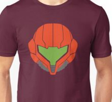 Samus' Powersuit Helmet Unisex T-Shirt