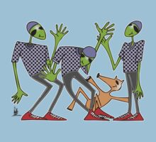 cool aliens One Piece - Short Sleeve