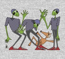 cool aliens Kids Clothes