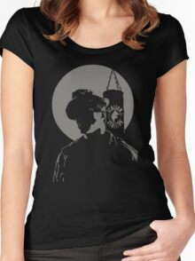 Cut me, Mick. Women's Fitted Scoop T-Shirt