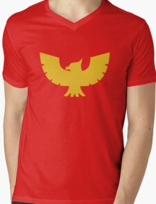 Captain Falcon Mens V-Neck T-Shirt