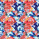 bright floral pattern by Tanor