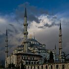The Blue Mosque, Istanbul by EvergreenImp