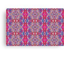 Colorful Ornate Decorative Pattern Canvas Print