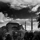 Hagia Sophia in Black and White by EvergreenImp