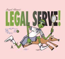 legal serve One Piece - Short Sleeve