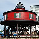 Seven Foot Knoll Lighthouse by NikonJohn