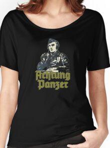 PANZER COMMANDER - ACHTUNG PANZER Women's Relaxed Fit T-Shirt