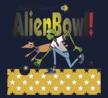 alien bowling Kids Tee