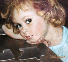 Detail of Catie at 4 Years by Cathy Amendola