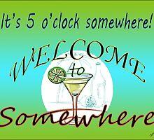 It's 5 O'Clock by whiteygilroy