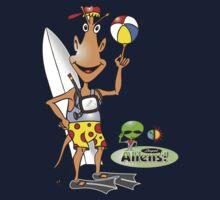 alien surf Kids Tee