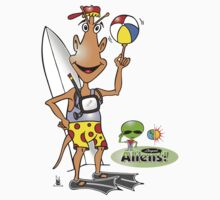 alien surf Kids Clothes