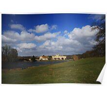 Leeds Castle Lakeside Poster