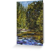 Wilson River 2 - paint out Greeting Card