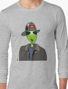 alien fireman Long Sleeve T-Shirt