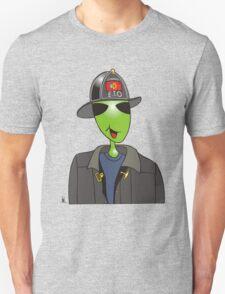 alien fireman Unisex T-Shirt