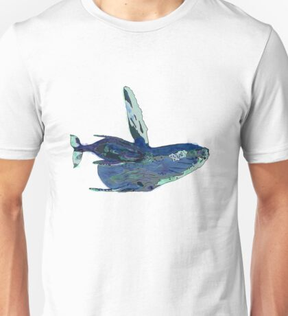 Whale and Baby Unisex T-Shirt