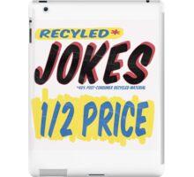 Recycled Jokes Supermarket Series iPad Case/Skin