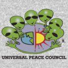alien peace council  by redboy