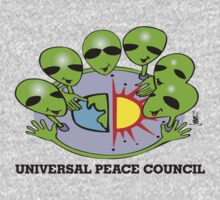 alien peace council  Kids Tee