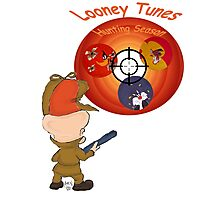 "Looney tunes ""Hunting season"" Photographic Print"