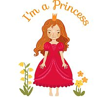 Little girl Princess by Elsbet